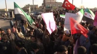 - Tel Rıfatlılardan Türkiye'ye destek gösterisi