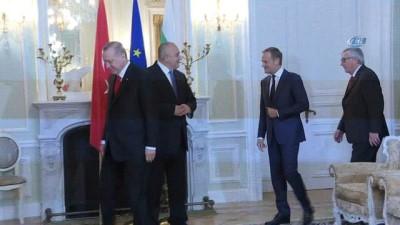 - Cumhurbaşkanı Erdoğan, aile fotoğrafı çekimine katıldı