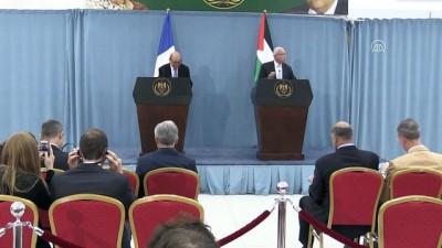 Fransa Dışişleri Bakanı Jean-Yves Le Drian, Filistin'de (3) - RAMALLAH