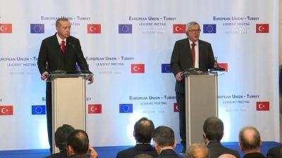 Türkiye-AB Zirvesi - AB Komisyonu Başkanı Juncker - VARNA