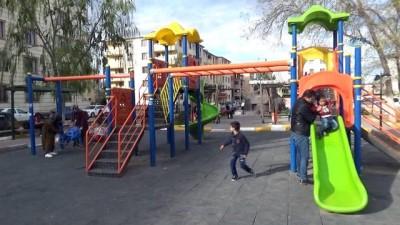 Iğdırlı aileler parklara kamera takılmasını istiyor