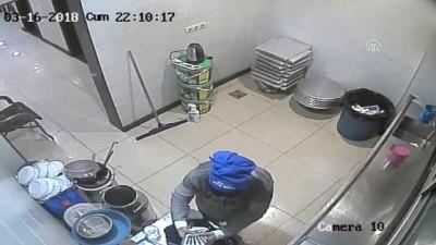 İş yerinden hırsızlık kamerada - ADANA