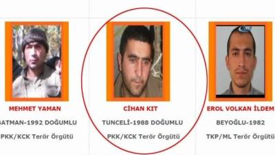600 bin TL'lik 'Turuncu' listede yer alıyordu, öldürüldü