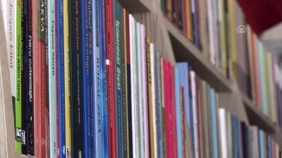 Lise öğrencilerinden yetim çocuklara kitaplık - GAZİANTEP