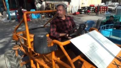 Cumhurbaşkanının çağrısına kulak verdi arazi tipi araç yaptı