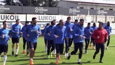 Trabzonspor'da Galatasaray maçı hazırlıkları - TRABZON
