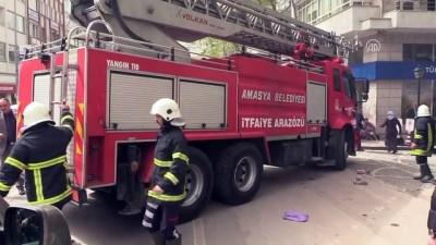 İş merkezinde yangın - AMASYA