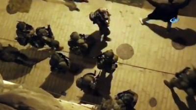 - İsrail Askerleri, 20 Filistinliyi Gözaltına Aldı