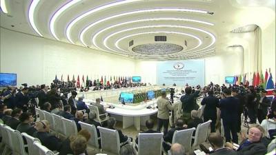 Afganistan Hakkında Taşkent Konferansı - Mogherini - TAŞKENT