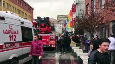 Zeytinburnu'nda okul bodrumunda yangın - İSTANBUL