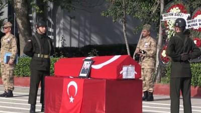 Şehit Jandarma Uzman Çavuş Samet Tokur'un cenazesi, memleketi Samsun'a gönderildi - ADANA