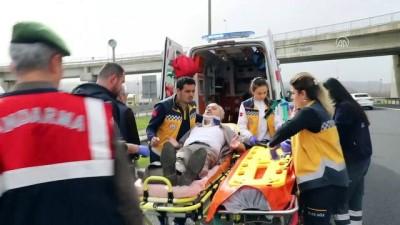 Anadolu Otoyolu'nda trafik kazası: 5 yaralı - BOLU