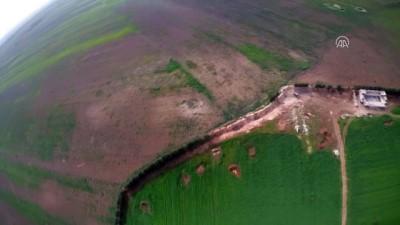 Tel Rıfat havadan görüntülendi (2) - AZEZ