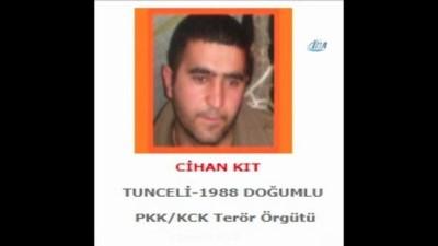 Teröristlerden biri 'Turuncu' diğeri 'Gri' listede çıktı