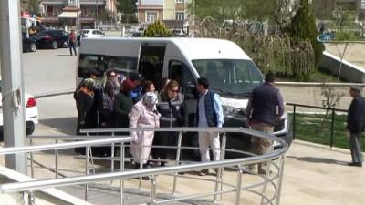 Karaman merkezli FETÖ/PYD operasyonunda 6 kadın serbest kaldı