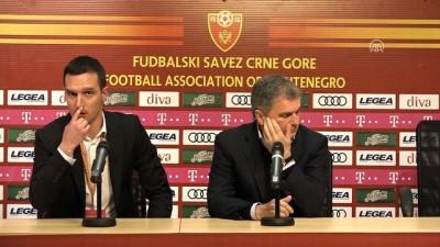 Maçın ardından - Teknik direktör Tumbakovic - PODGORİCA