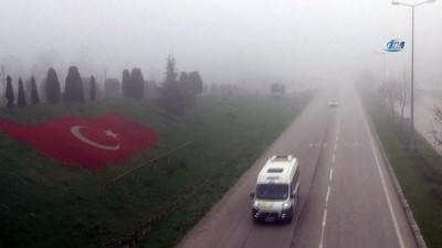 Bolu Dağı'nda ve Düzce'de yoğun sis