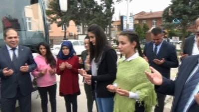 Tokat'ta öğrenciler Çanakkale ve Afrin ruhu için yollarda
