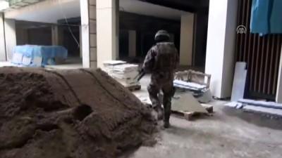 Terör şüphelisi inşaatta çalışırken yakalandı - KAYSERİ