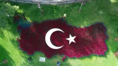 Gaziantep 'çiçek açtı'