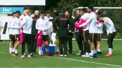 Galatasaray'da Trabzonspor maçı hazırlıkları - İSTANBUL