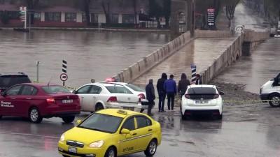 Tunca Köprüsü trafiğe kapatıldı - EDİRNE