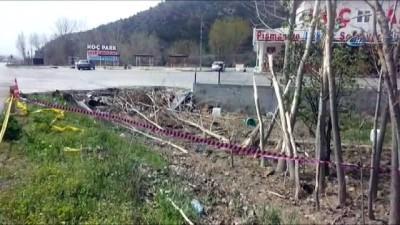 Çorum'daki otobüs kazasında istinat duvarı olası bir faciayı önlemiş