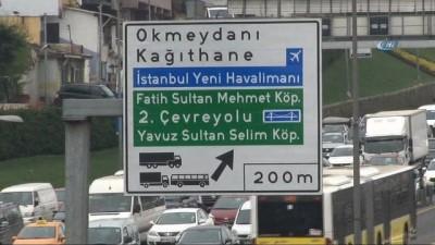Yeni havalimanının adı trafik yön levhalarında yerini aldı