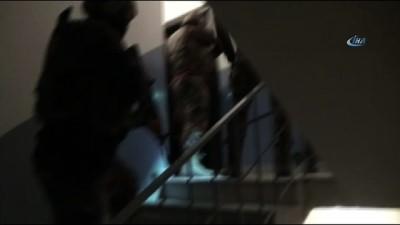 Örgüt bağlantılı matbaaya operasyon kamerada