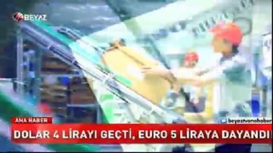 Dolar 4 lirayı geçti, Euro 5 liraya dayandı!