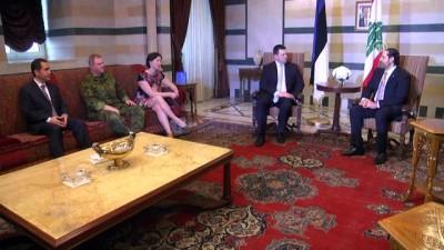 Estonya Başbakanı Ratas Lübnan'da
