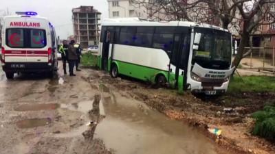 Minibüs sürücüsünün uyuşturucu kullandığı iddiası - KIRKLARELİ
