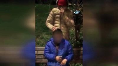 Çocuk hırsızı yakalayıp önce itiraf ettirdiler sonra dövdüler