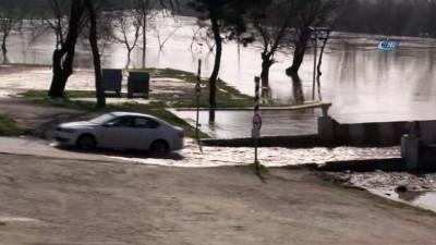 Tunca ve Meriç Nehri'nde yaşanan taşkın tedirgin ediyor