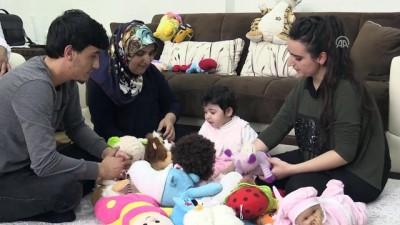 Korunmaya muhtaç çocukların ŞEFKAT YUVALARI - Engelli Melek'in 'koruyucu meleği' oldular - KAHRAMANMARAŞ
