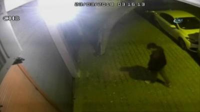 Hırsızlar 8 güvenlik kamerasına aldırış etmeden üçüncü kez soydu