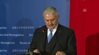 Başbakan Yıldırım'dan, FETÖ'yle mücadelede destek talebi - SARAYBOSNA