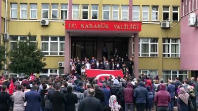 Öğrencilerden Mehmetçiğe destek - KARABÜK