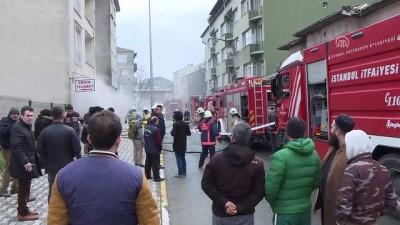 Eyüp'te yangın - İSTANBUL