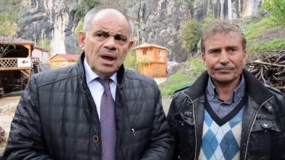 Sel nedeniyle mahsur kalan çift kurtarıldı - Yahyalı Belediye Başkanı Öztürk - KAYSERİ