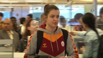 Eurocup'ta finale yükselen Galatasaray yurda döndü