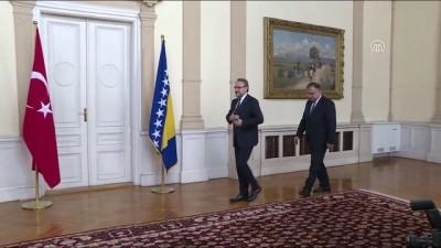 Başbakan Yıldırım, Bosna Hersek Devlet Başkanlığı Konseyi üyeleriyle görüştü - SARAYBOSNA