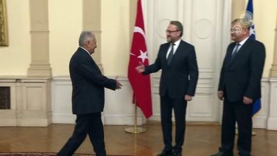 Başbakan Yıldırım, Bosna Hersek Devlet Başkanlığı Konseyi üyeleriyle görüştü (2) - SARAYBOSNA