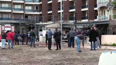 Marmaris'te kapalı otelde yangın - MUĞLA