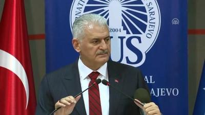 Başbakan Yıldırım: 'FETÖ toplumun her alanına kollarını dolamış bir ahtapottur' - SARAYBOSNA