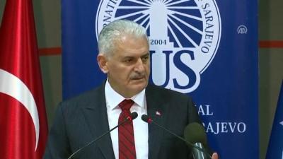 Başbakan Yıldırım: '(FETÖ) En fazla nüfus ettikleri, sızdıkları alan eğitim alanıdır' - SARAYBOSNA