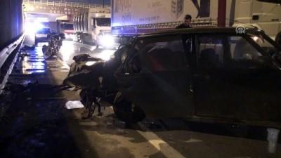 Zincirleme trafik kazası: 4 yaralı - KOCAELİ