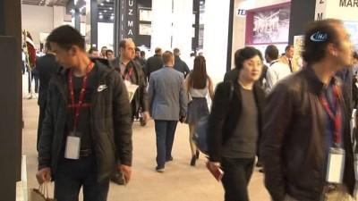 """İMİB Başkan Adayı Çevik'ten İzmir Mermer Fuarına destek: """"Türk taşını her yere satıyoruz"""""""