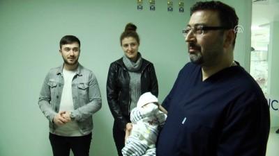 Muhammet bebek sağlığına kavuştu - SİVAS