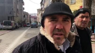 Yangında mahsur kalan çocukları vatandaşlar kurtardı - İSTANBUL